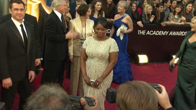 Octavia Spencer at 84th Annual Academy Awards Arrivals on 2/26/12 in Hollywood CA