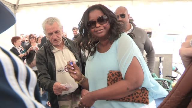 Octavia Spencer at Celebrity Video Sightings on May 19 2013 in Cannes France