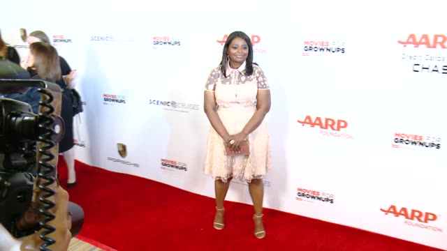 Octavia Spencer at the 14th Annual Movies For Grownups Awards Gala at the Beverly Wilshire Four Seasons Hotel on February 02 2015 in Beverly Hills...