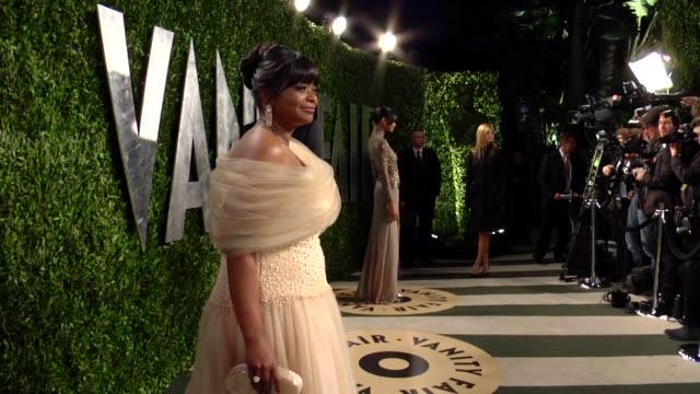 Octavia Spencer at The 2013 Vanity Fair Oscar Party Hosted By Graydon Carter Octavia Spencer at The 2013 Vanity Fair Oscar at Sunset Tower on...