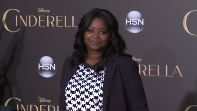 Octavia Spencer at the Disney's 'Cinderella' World Premiere at the El Capitan Theatre on March 01 2015 in Hollywood California