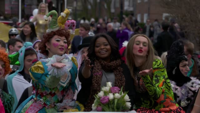 Octavia Spencer at The Hasty Pudding Theatricals Honors Octavia Spencer as 2017 Woman Of The Year on January 26 2017 in Cambridge Massachusetts