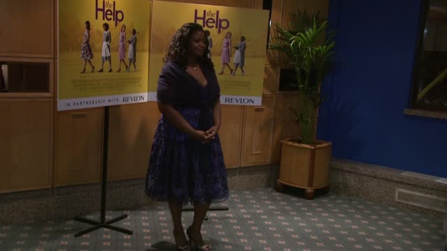 Octavia Spencer at the The Help UK Premiere at London England