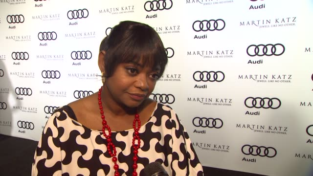 Octavia Spencer on kicking off Golden Globe week at this party what she's most looking forward to this evening how she's preparing for Golden Globe...