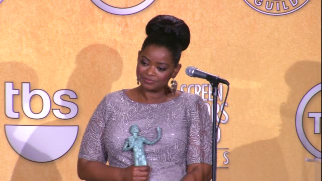 Octavia Spencer on the event and on her SAG Award win for Female Actor in a Supporting Role at 18th Annual Screen Actors Guild Awards Press Room on...