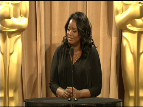 Octavia Spencer on what she loves about being so successful at the 84th Academy Awards Nominations Luncheon in Beverly Hills CA on 2/6/12