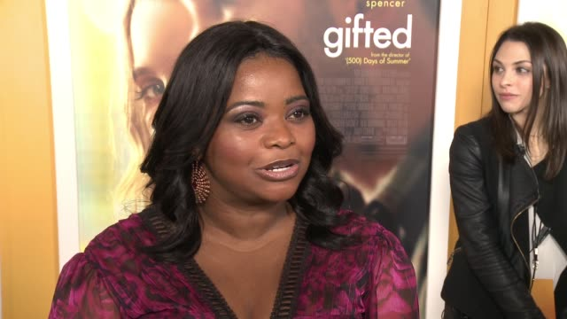 INTERVIEW Octavia Spencer on why she wanted to be a part of this film talks about the unique family dynamic featured in the film and working with the...