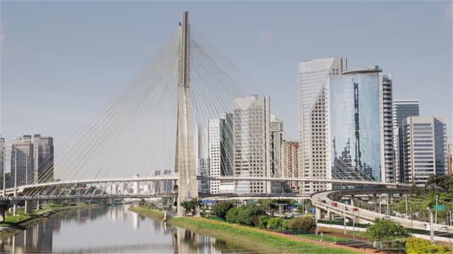 Ls Octavio Frias Bridge And Av Das Nacoes Unidas In ...