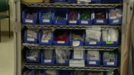 October 14 2009 TD Medical supplies in closet / Memphis Tennessee United States