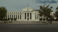 October 22 2009 PAN Exterior of Federal Reserve Building / Washington DC United States