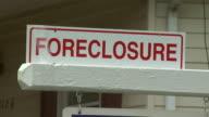 October 27 2008 CU Foreclosure sign / United States