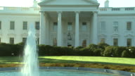 October 31 2008 ZO South Entrance to White House / Washington DC United States