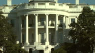 October 31 2008 PAN South facade of the White House / Washington DC United States