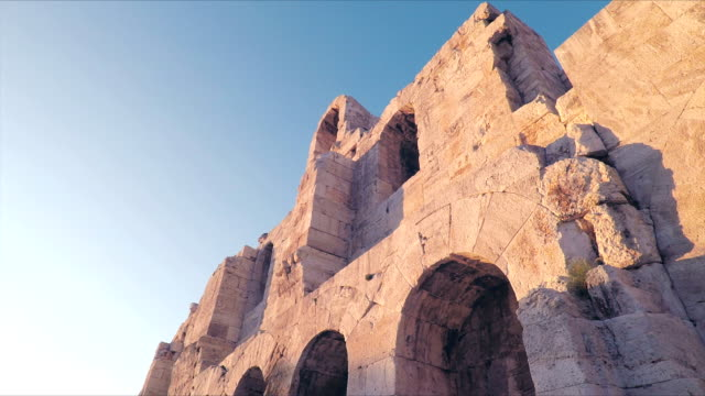 Odeon of Herodes Atticus theatre in Athens
