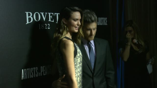 Odette Annable and Dave Annable at the 7th Annual Hollywood Domino Bovet 1822 Gala Benefiting Artists For Peace And Justice at Sunset Tower Hotel on...