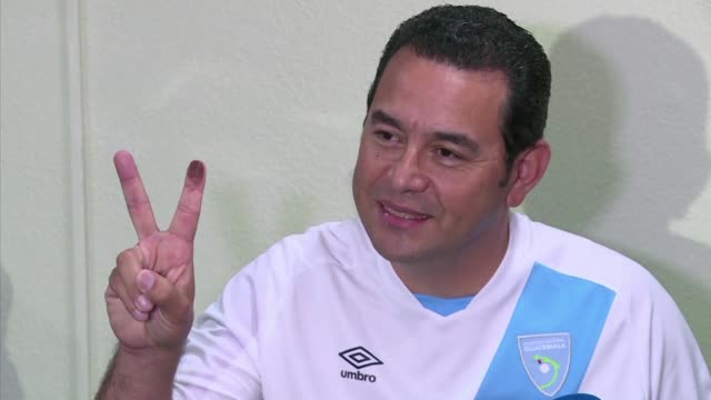 IMAGES of Guatemala's President Jimmy Morales