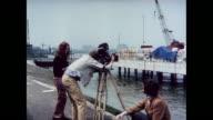MONTAGE of Royal College of Art Film School scenes in London / United Kingdom