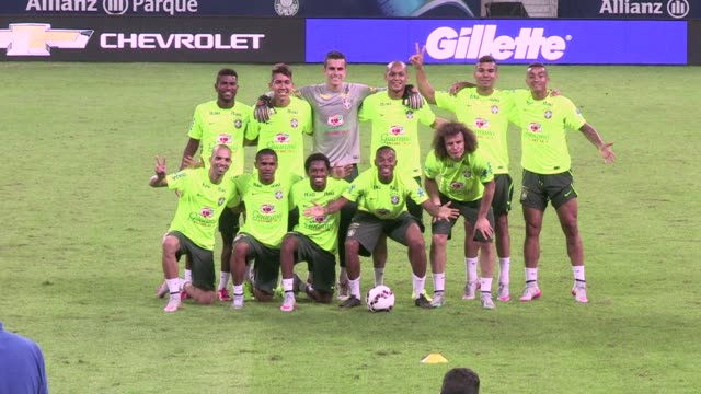 FILE of the Brazilian team training ahead of the Copa America which will be played in Chile from June 11 to July 4