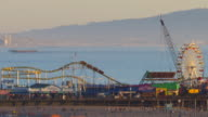 TIME LAPSE of the California Coast and Santa Monica Pier