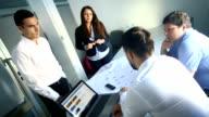 Office brainstorming.