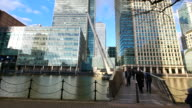 4K Office business building in London, England - timelapse