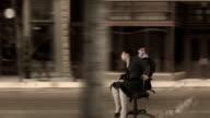 Office Chair Street Race