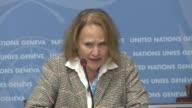 N Office for the Coordination for Humanitarian Affairs spokesman Jens Laerke UN's World Food Programme Spokesperson Bettina Luescher UNICEF...