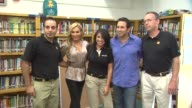 OfficeMax's A Day Made Better School Advocacy Campaign With Adrienne Maloof And Dr Paul Nassif Sherman Oaks CA United States 9/30/11