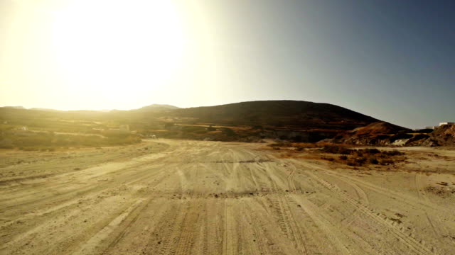 Offroad point of view driving