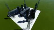 Oil, Gas and Fuel Refinery