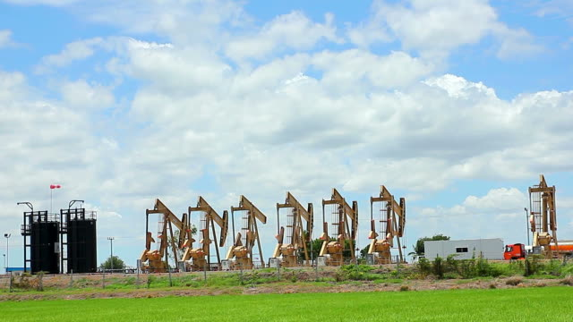 Oil industry in the field