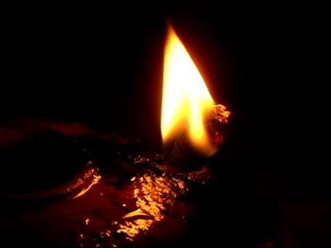 Oil Lamp Burning Wick
