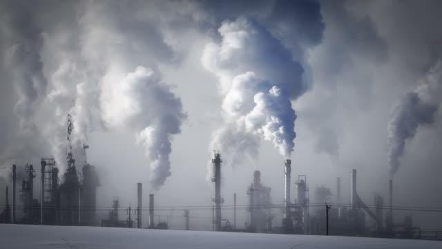 Ölraffinerie Ausstoßen green house Gase