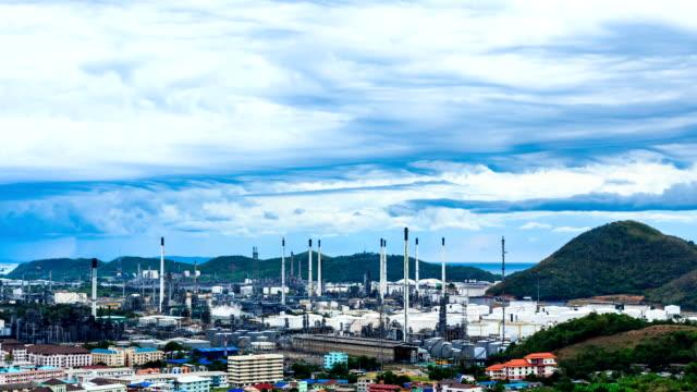 Öl-Raffinerie Werk