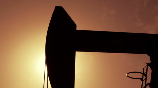 Oil Well Close Up