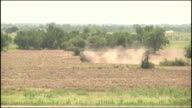 Oklahoma Army National Guard members from the 45th Field Artillery Brigade conduct live fire training operations during their twoweek annual training...