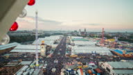 Oktoberfest 2015 Munich - seen from giant wheel - day