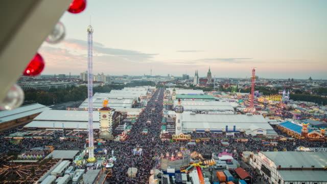 Oktoberfest 2015 Munich - seen from giant wheel - day