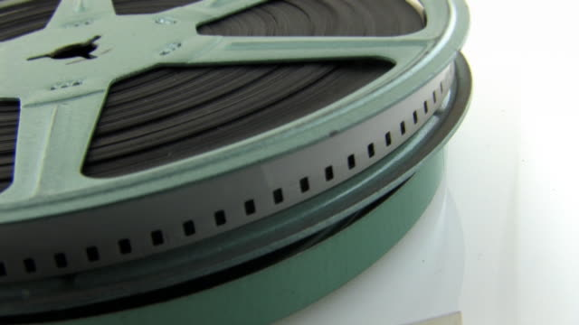 Old 8mm Film in Canister