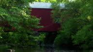 Old bridge in New England, USA