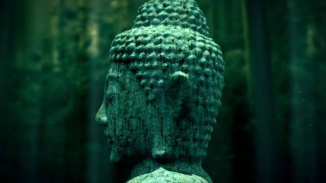 Alte Buddha-statue