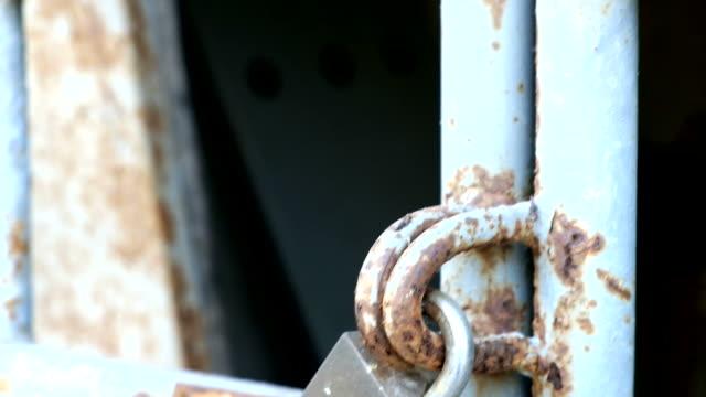 old door locked