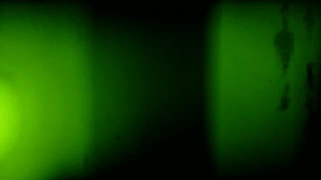 Alte Film-Grüne Ampel Lecks mit Audio-Loops