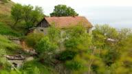old fisherman's cottage on the coast