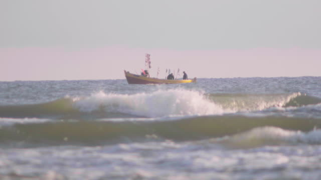 old fishing boat on sea