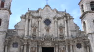 Old Havana, Cuba: The Cathedral of the Virgin Mary of the Immaculate Conception facade
