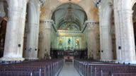 Old Havana,Cuba: Indoors at The Cathedral of the Virgin Mary of the Immaculate Conception
