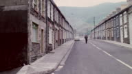 MONTAGE Old mining towns being restored to their former beauty / Wales, United Kingdom