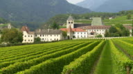 Old Monastery Surrounded by Vineyards TILT UP