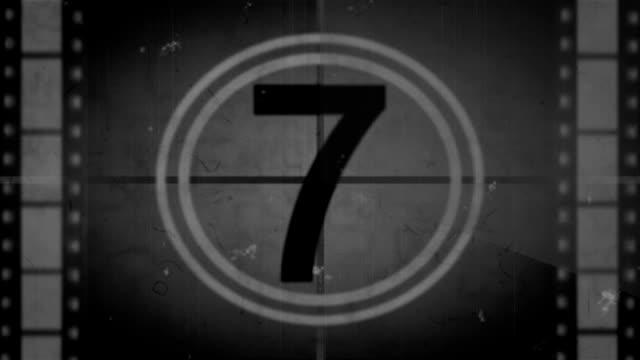 Alte Film Countdown-Full HD